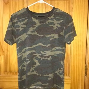 Army Green Camo Shirt